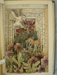 Bk 2 | Pen & watercolour paints; green book | Isobelle Ouzman | Flickr