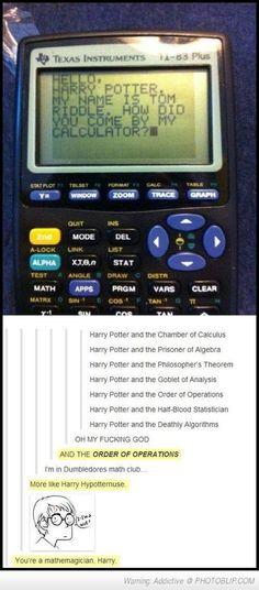 You're A Mathemagician Harry