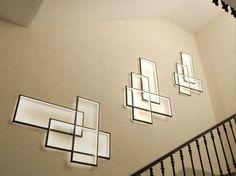 Luminária de parede LED com luz indireta TRIO LT by CINIER Radiateurs Contemporains design Johanne Cinier
