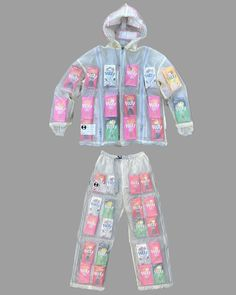 Kosuke Tsumura released this transparent survival outfit in 1995 under his label Final Home. Tsumura describes the outfit… Cool Outfits, Fashion Outfits, Recycled Fashion, Harajuku Fashion, Mode Inspiration, British Style, Fashion Sketches, Types Of Fashion Styles, Photoshop