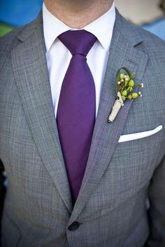 love the grey & purple