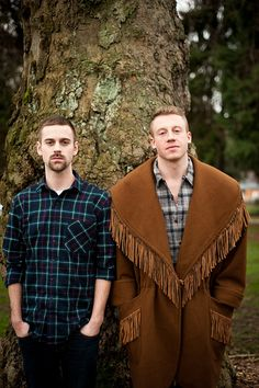 Macklemore and Ryan Lewis. So much talent and honesty. :)