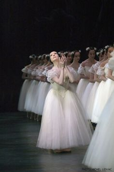 I'm not obsessed with ballet but someone's obsessed with Giselle. Be careful not to mess with the afterlife