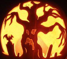 Jack-o-lanterns: Pokemon, Star Wars, Zelda, Super Mario, Witches, Minesweeper