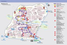 Nuremberg Tourist Map - Nuremberg Germany • mappery