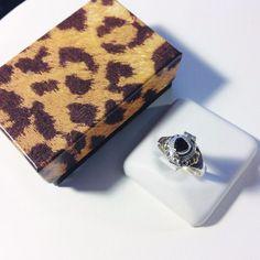 Garnet Heart Poison Ring-Sterling Silver 925-Secret Compartment-Locket-Red-Opens #Handmade #Poison #BirthdayValentinesDayLittleSurpriseGift