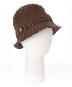 Loving this Brown Bucket Wool Hat on #zulily! #zulilyfinds