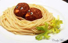 Espaguetti brincalhão