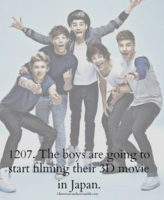 MORE ONE DIRECTION FACTS HERE ! :)