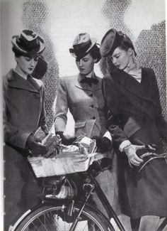 The Incorporated Society of London Fashion designers presents utilitarian fashion - by Lee Miller for Vogue [1942]