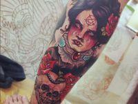 Evil Tattoo Flash on Pinterest   22 Pins