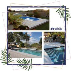 Es gibt viele verschiedene Arten von Pools. Eines haben sie alle gemeinsam: Die erfrischende Abkühlung an heißen Tagen... Outdoor Decor, Home Decor, Summer, Lawn And Garden, Decoration Home, Room Decor, Home Interior Design, Home Decoration, Interior Design