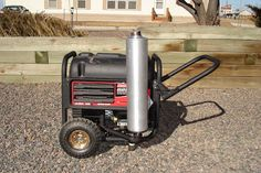 For the very first Nerdy Thing I Do (NTID), I& introduce you to the quiet(er) muffler I fabbed up for my portable generator. I purchase. Quiet Portable Generator, Generator Shed, Power Generator, Metal Bender, Man Crafts, Diy Home Repair, Man Up, Sound Proofing, Alternative Energy