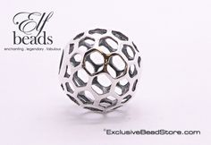"""This is the silver bead """"Honey"""" from Elfbeads. Made with 925 Sterling Silver, """"Honey"""" is partof the April 2016 """"Shades of Summer"""" collection. """"Honey"""" is availa"""