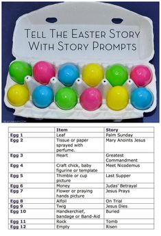 Easter Story With Story Prompts
