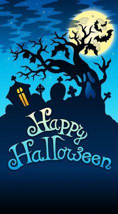 Happy Halloween iPhone Wallpaper http://xperiatokok-infinity.hu , http://htctokok-infinity.hu