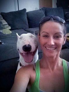 One happy terrier.