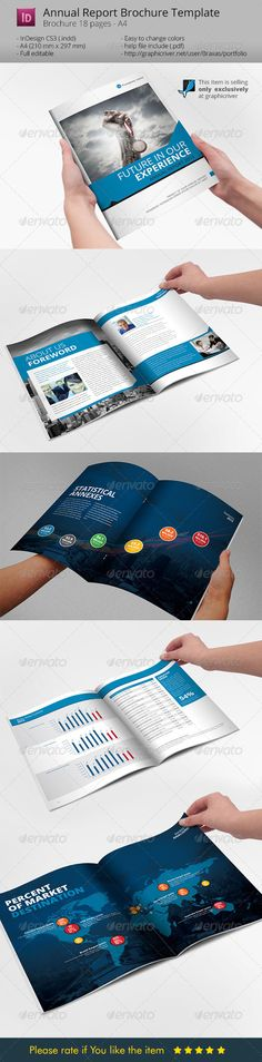 Annual Report Design Template Annual report design, Report - business annual report template