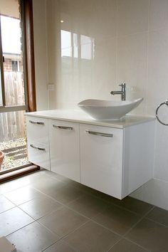 Vanity Bathroom Brisbane 1200 wall hung vanity unit | bathroom | pinterest | glass sink