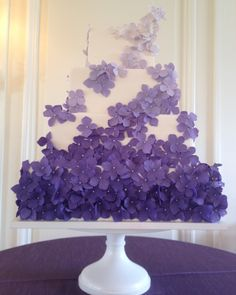 Blue and Purple Wedding Cakes | white-and-purple-ombre-wedding-cake.original.png?1357354075
