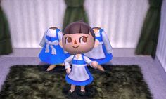 Animal Crossing QR codes for Belle's dress, among other Disney-themed goodies :)