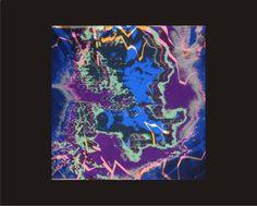 PROSSIMO CIELO 9 Colori Serigrafia di maurizio rivetti TIRATURA 35 ESEMPLARI