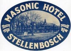 Masonic Hotel, Stellenbosch