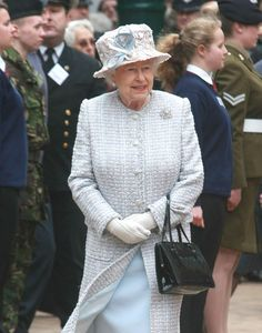 HRH Queen Elizabeth II visits Bromley in London, on May 15, 2012