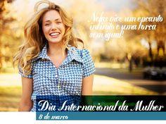 🙋A Equipe Vera Bernardes homenageia todas as mulheres que através de suas forças, sabedoria e delicadeza, transformam o mundo. Feliz Dia Internacional da Mulher!!