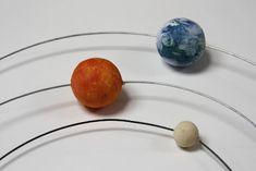 Tutorial per a fer el sistema solar i les òrbites dels planetes. Solar System Science Project, Diy Solar System, Solar System Model, Solar System Projects, Space Projects, Space Crafts, School Projects, Cool Science Fair Projects, Science Fun