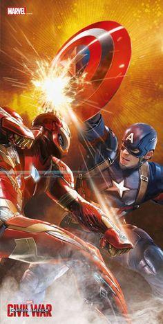 New 'Captain America: Civil War' Promo Art — Latino-Review.com