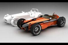 Indy Seven Roadster : la Seven néo-rétro au parfum d'IndyCar - actualité automobile - Motorlegend