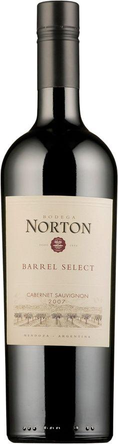 Norton Barrel Select Cabernet Sauvignon 2015. Argentina: Cabernet Sauvignon. 10,98 €. Mehevä ja hilloinen: Täyteläinen, tanniininen, kypsän herukkainen, tumman kirsikkainen, mausteinen