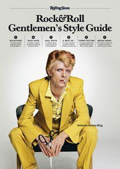 Rolling Stone Italia : Rock'n'Roll Gentlemen's Style Guide