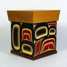 Lattimer Gallery - James Michels - Bentwood Box - Infinity