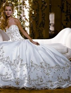 Kleinfeld eve of milady wedding gown