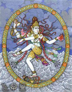 Cuenta el mito que unos malvados herejes intentaron atacar a #Shiva mediante distintos encantamientos, los cuales Shiva sorteó danzando. Fue entonces cuando estas criaturas con aspiraciones de usurpación de poder, crearon al demonio Apasmara para que destruyese a Shiva, y lo lanzaron contra él. Pero Shiva lo venció bajo su pie, danzando.  El demonio lanzado simbolizaba la ausencia de memoria, la negligencia, la ignorancia. La danza, el arte, en definitiva la fuerza del conocimiento…