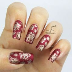 Nailvengers Assemble! - Christmas Nail Art