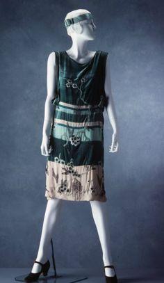 Evening dress, c. 1925