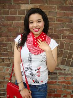 Amanda's Fashion Spot #GraphicPrintTShirt #CanadaDay #CanadianStyle #CanadianFashion #SUMMERSTYLETRENDS