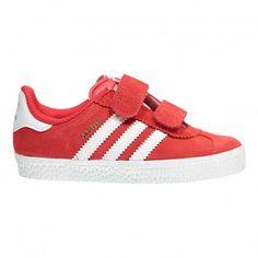 Baskets Scratchs Gazelle Rouge  Adidas