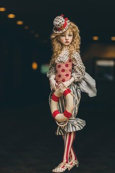 BJD art dolls by Connie Lowe