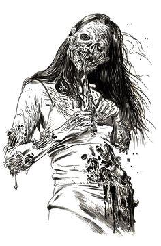 Pinup zombie - Rob Sacchetto