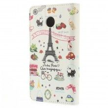 Forro Book Huawei Ascend Y330 Design Lugares Paris 14 $ 23.200,00