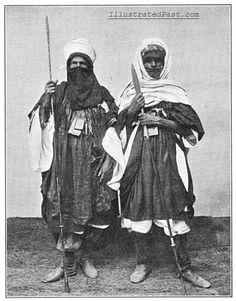 Tuaregs of the Sahara, 1902