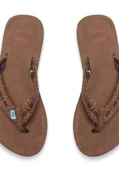 Summertime sandals from TOMS.