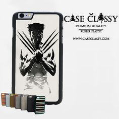 Wolverine iPhone 6 Case CaseClassy just $11.85 on caseclassy.com #phonecase #shopify #googleshopping #shopping #iphone6 #iphone
