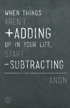 start substracting