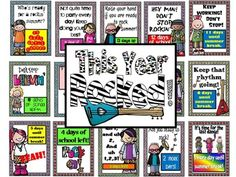 end of the year bulletin board with countdown, ideas here: http://mrskingrocks.blogspot.com/2014/05/this-year-rocked.html