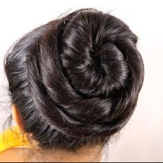 Image may contain: one or more people and closeup Rose Bun, Big Bun, Bun Hairstyles, Close Up, Wedding Parties, Long Hair Styles, Party, People, Youtube